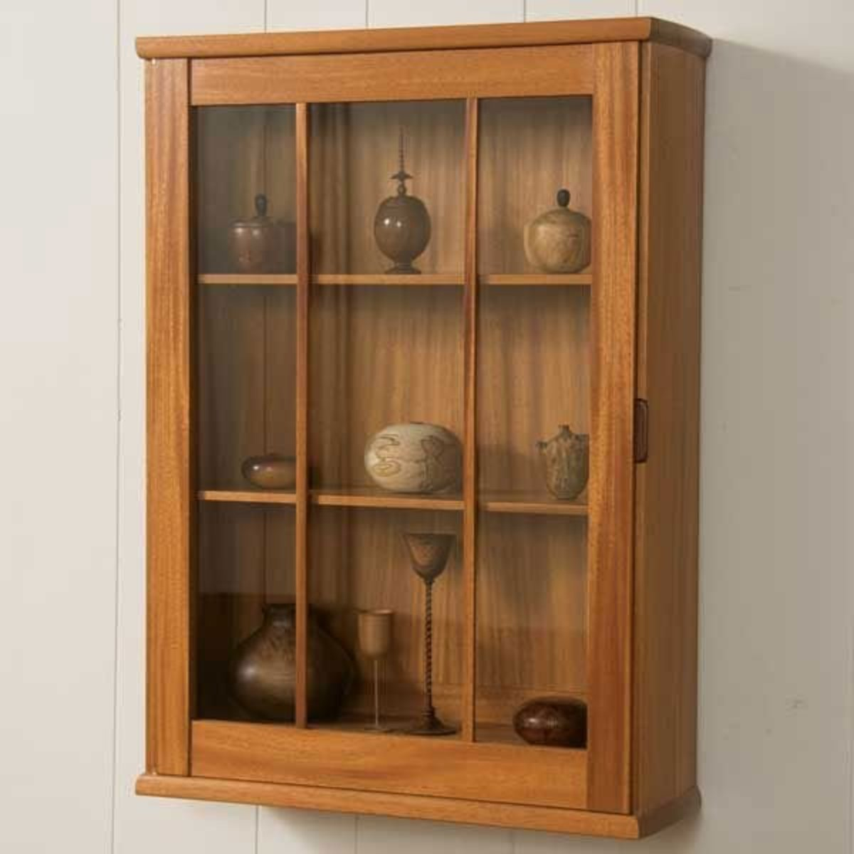 Wall Mounted Display Case Woodcraft Magazine Wall Hung Display Cabinet Downloadable Plan