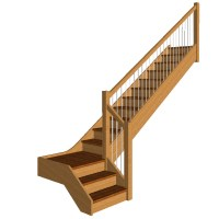 Stair Models | Stair 3D Models | Wood Designer