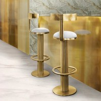 Luxury Mid-Century Bar-Stool  Wooden-It-Be-Nice