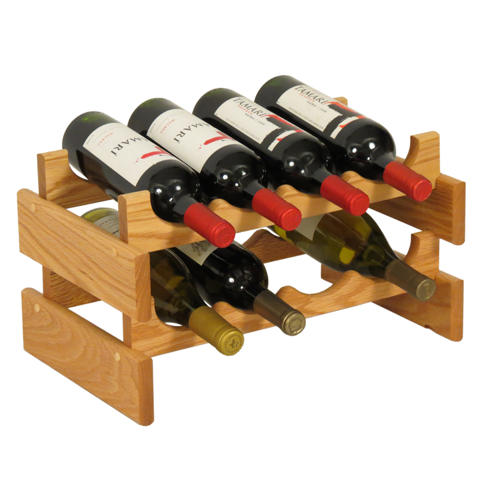 Wooden Bottle Rack Wooden Mallet Wine Rack Configurations