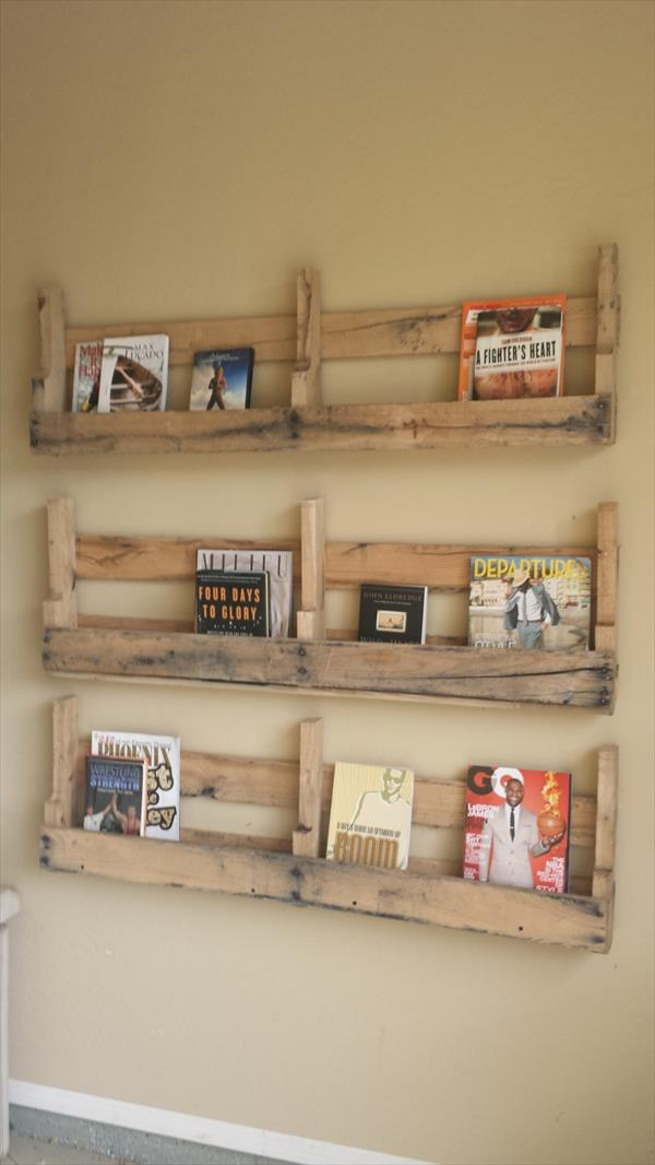 Diy Pallet Bookshelf Plans Or Instructions Wooden