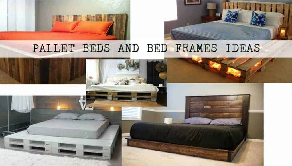 Beds And Beds Pallet Beds And Bed Frames Ideas