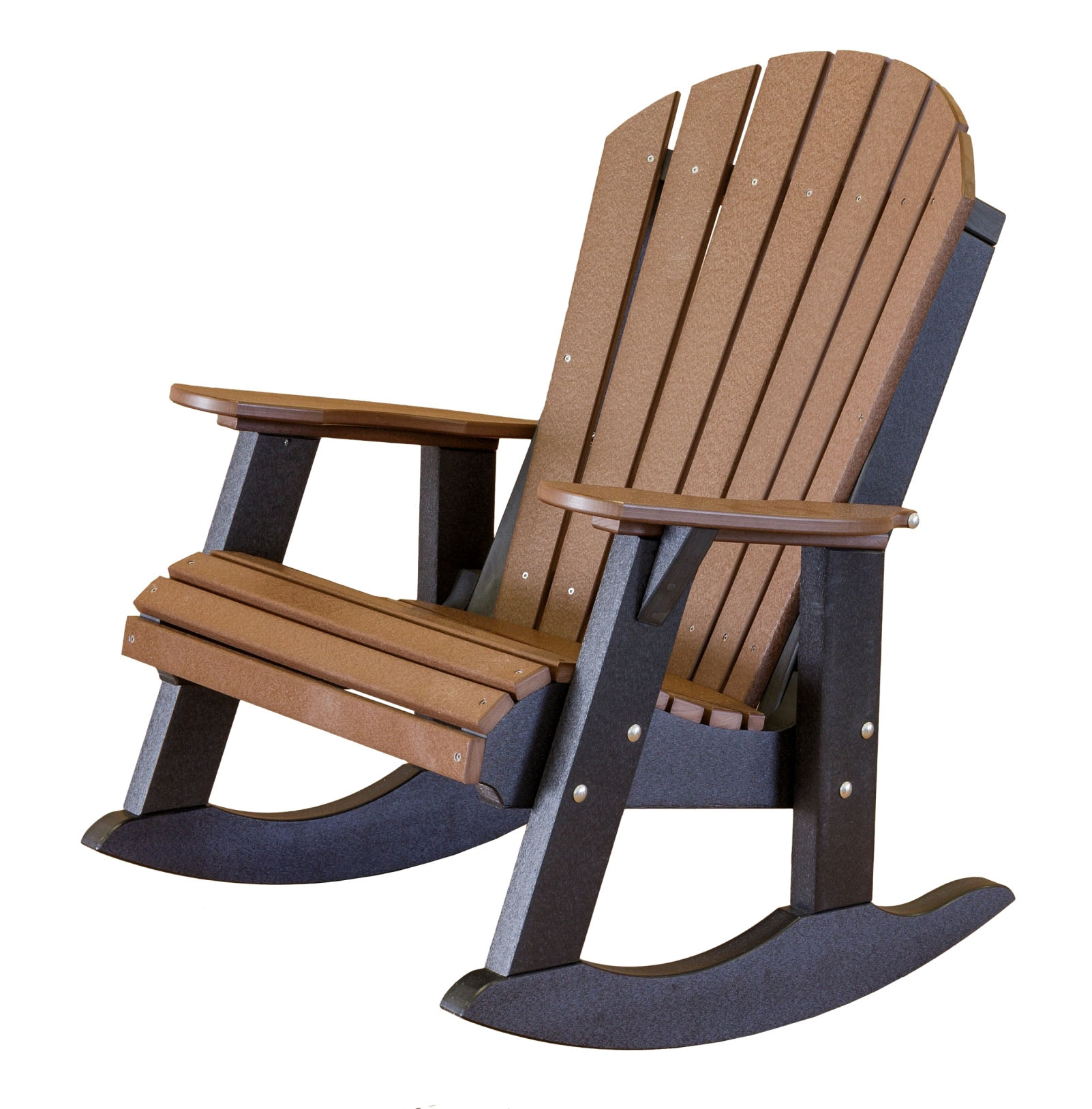 Wildridge Poly Vinyl Furniture Heritage Adirondack Rocker Lcc 115 Wooden Playscapes