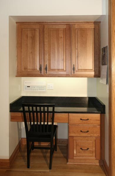 Replacing Kitchen Desk With Cabinets Brookfield Kitchen « Wooden Thumb Remodeling