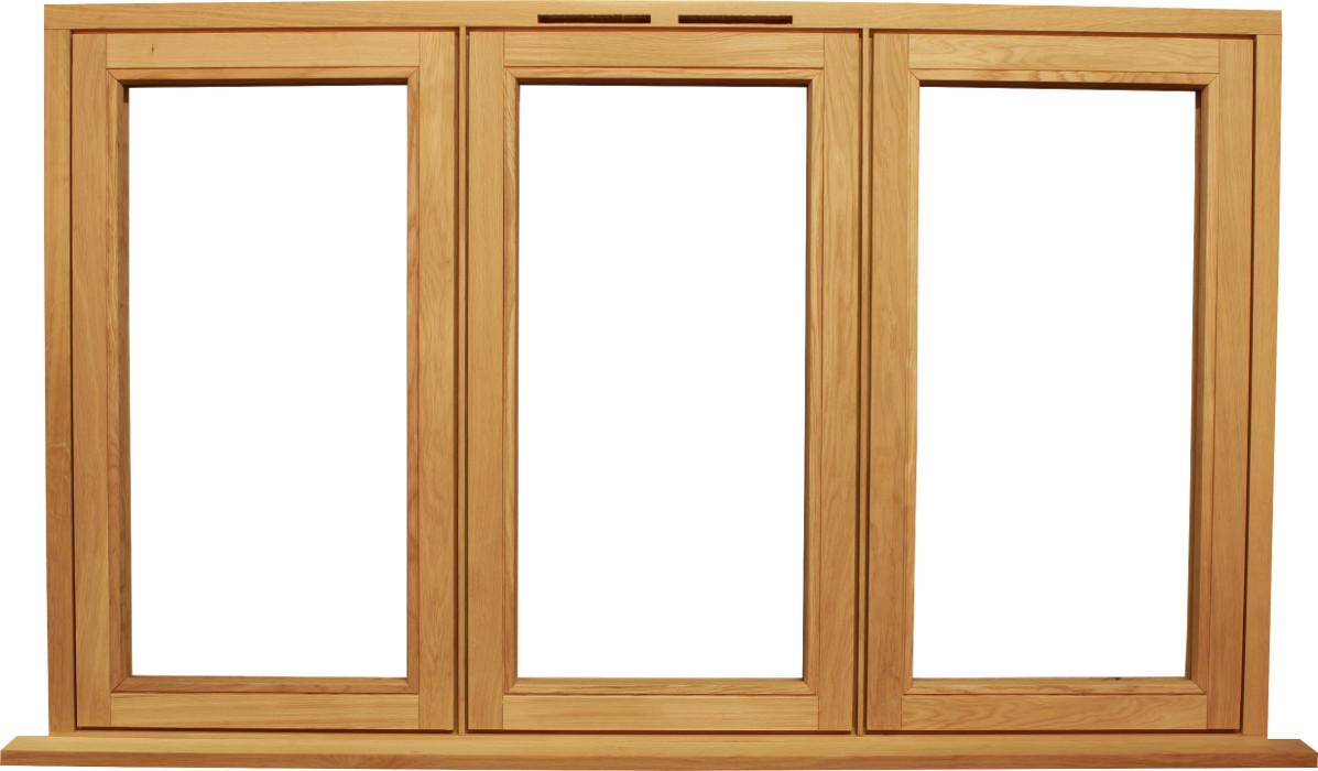 Bespoke wooden flush casement windows