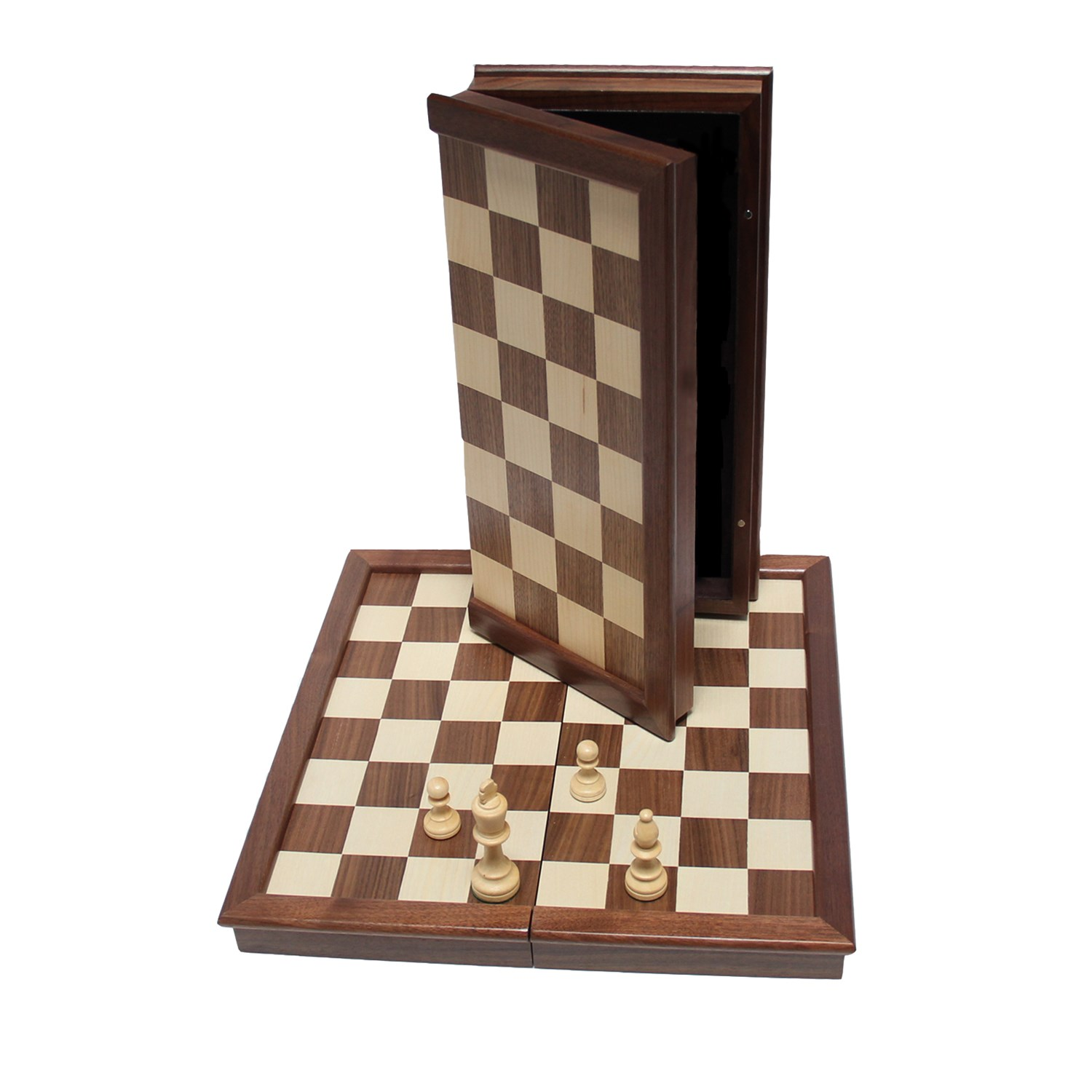 Chess Boards For Sale Amazon Classic Folding Chess Set Walnut Wood Board 17 Inch
