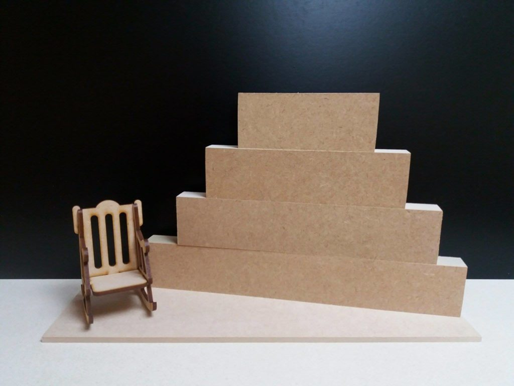 Rocking Chair Baby Bunting Mdf Stacking Blocks With Plinth And Rocking Chair Woodform