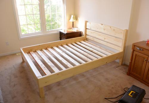 Queen Daybed Queen Size Bed From 2x4 Lumber