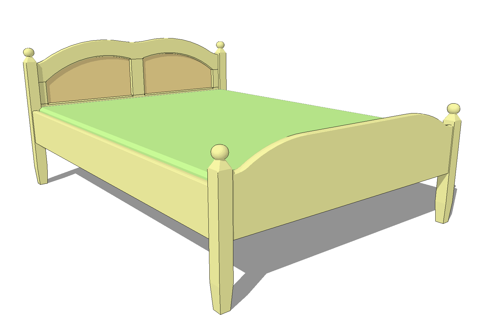 Double Bed Design Latest Double Bed Plans