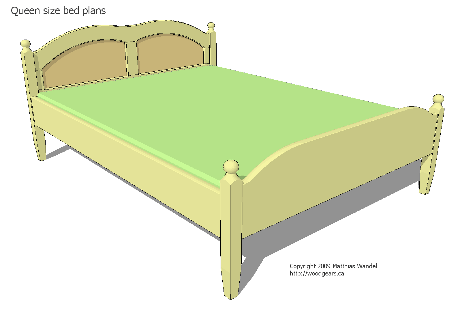 How Big Is A Queen Size Bed Uk Queen Size Bed Plans