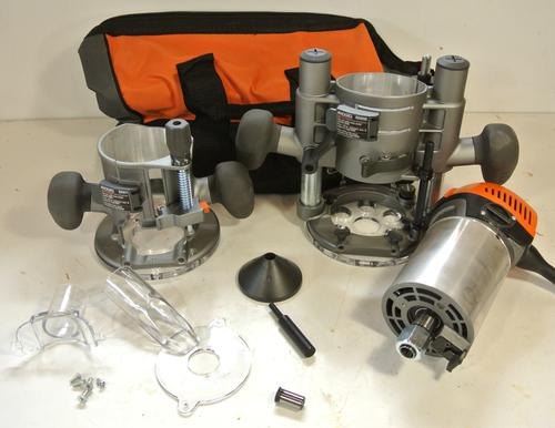 Ridgid Fixed Base Router With Plunge Base Review