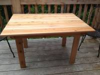 plans for wood patio table | Quick Woodworking Projects