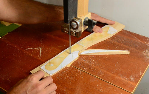 Making table saw push sticks