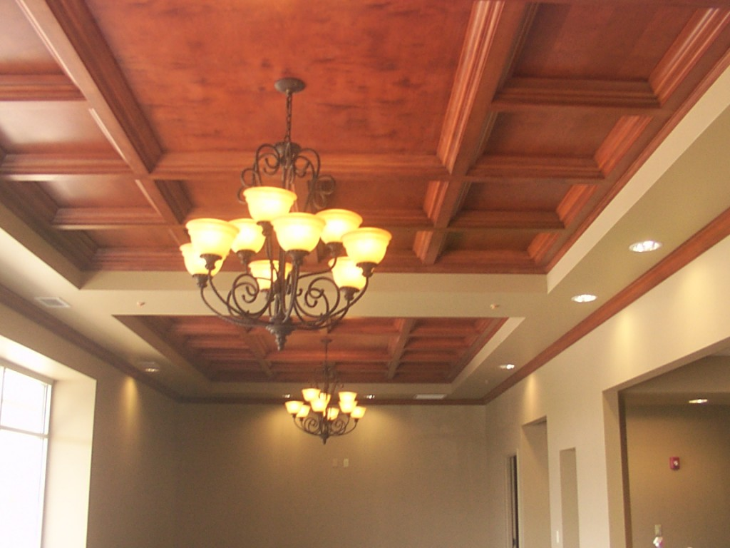 Woodgrid Coffered Ceilings By Midwestern Wood Products Co Wood Wood Coffered Ceiling For Lobbies * Woodgrid® Coffered