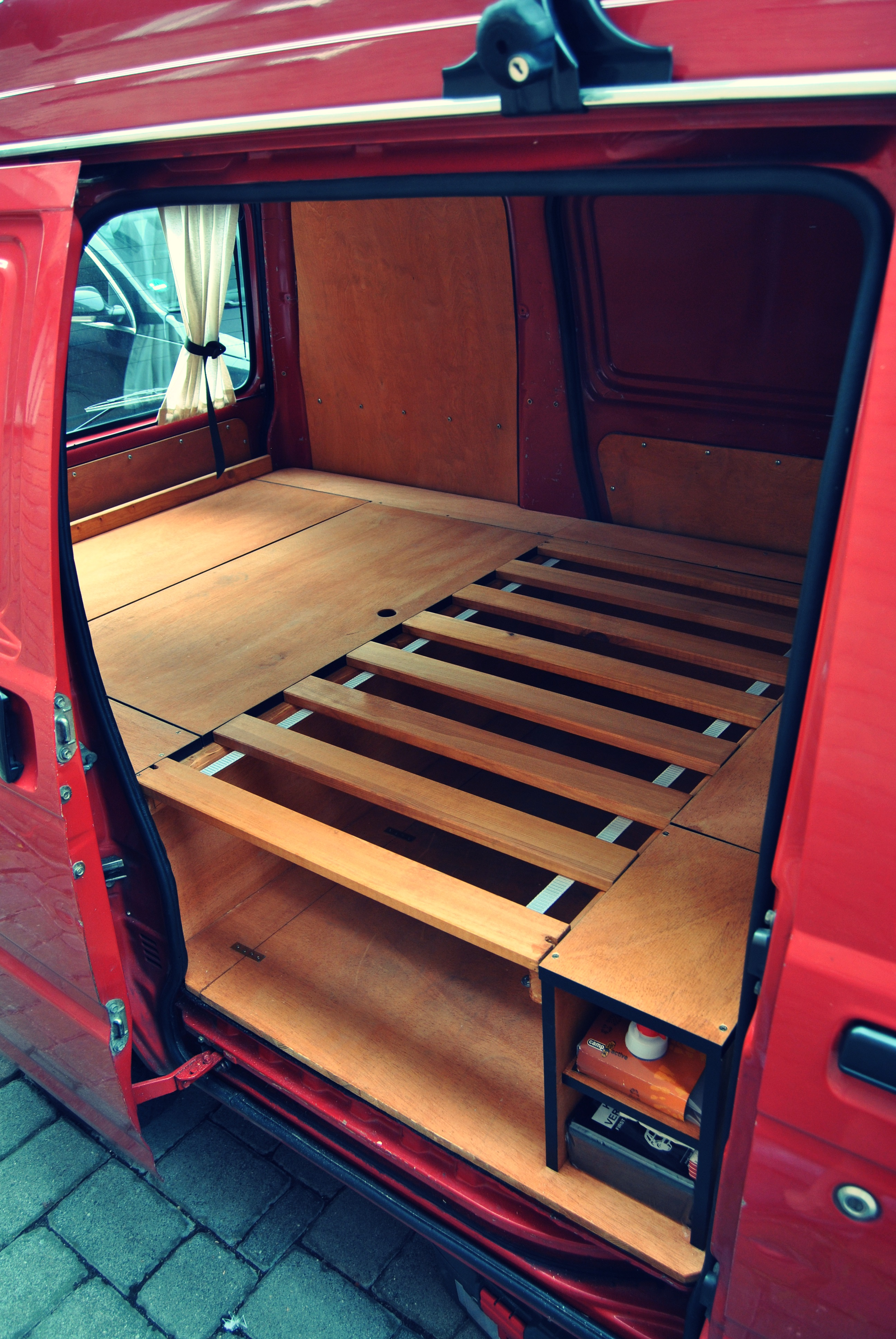 Lattenroste Diy Lattenrost Diy Camper Conversion