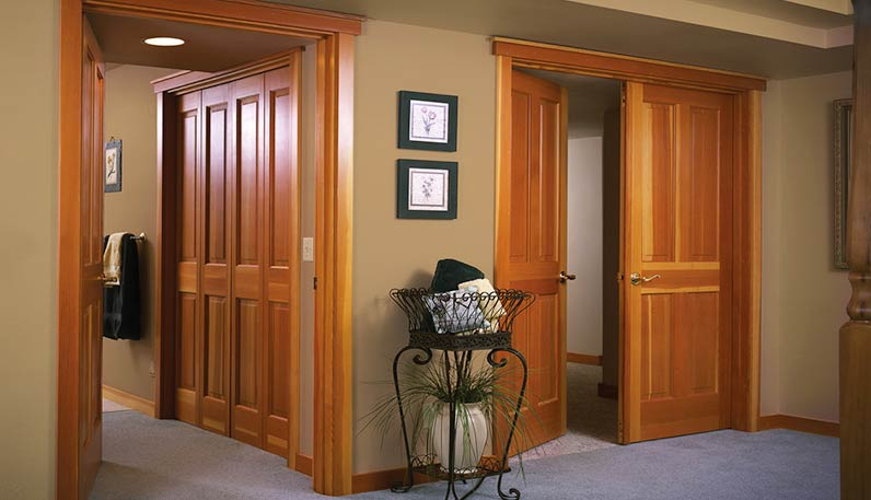 Interior doors philadelphia flush doors custom doors - Cat door for hollow core door ...