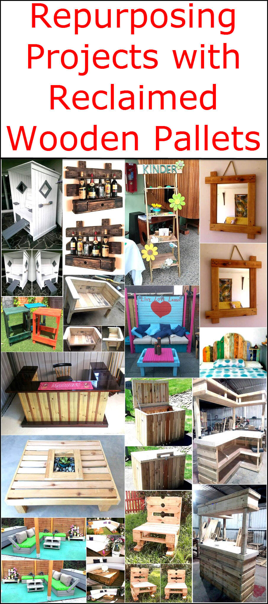 Pallets Knutselen Repurposing Projects With Reclaimed Wooden Pallets Wood Pallet