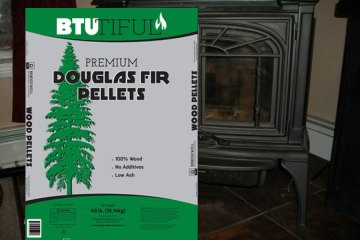 BTUtiful Douglas Fir Pellets