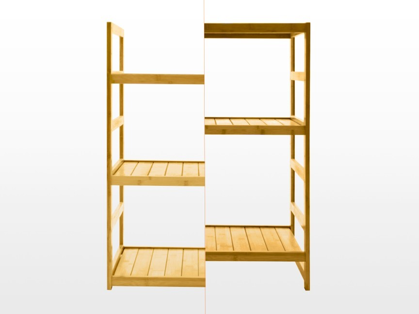 Bamboo Bathroom Shelves With Creative Example Eyagcicom