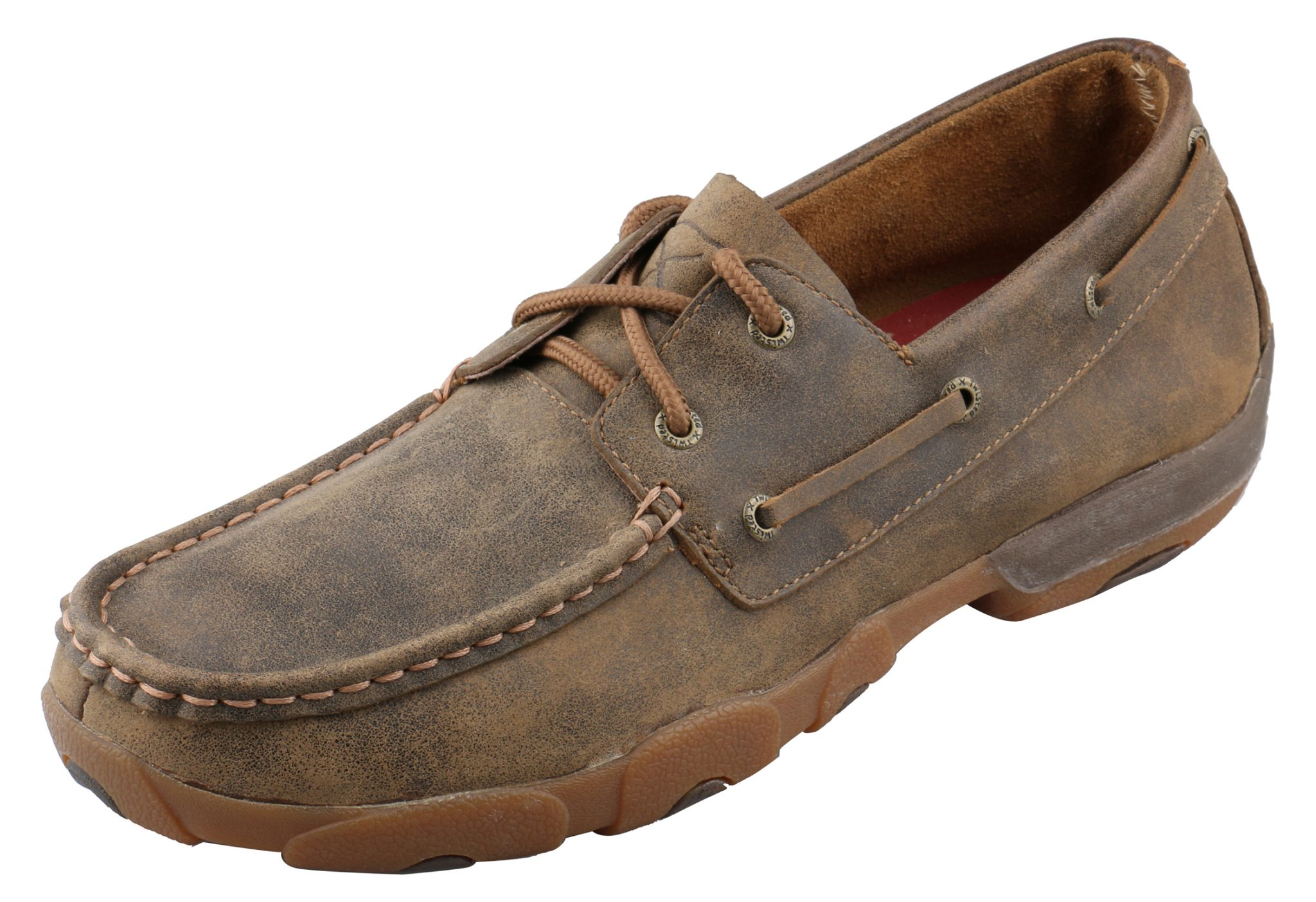 Men39s Twisted X Shoes Bomber Boat Shoe Wood39s Boots