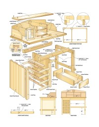 Woodworking plans desk | Build by Own