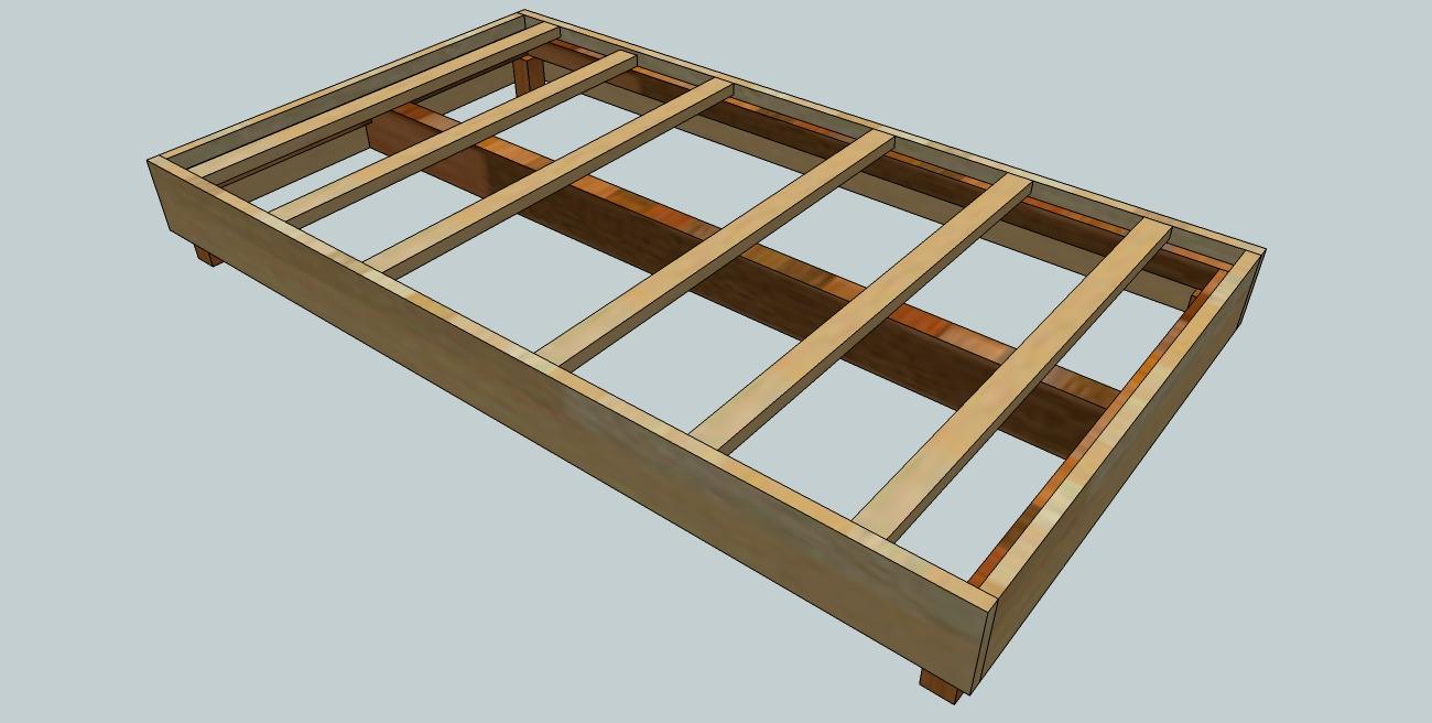 Woodworking Plans King Bed Frame Plans Diy How To Make