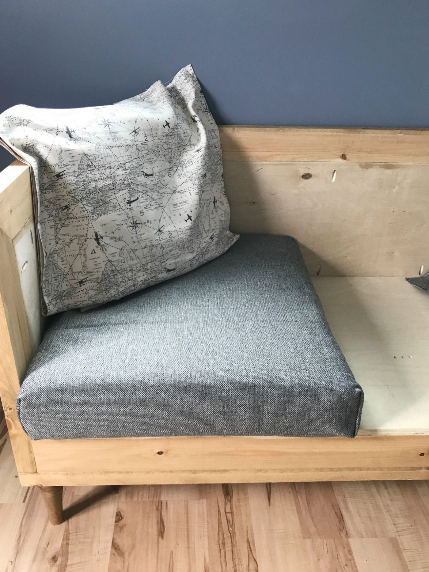 Sofa With Foam Seats Build Your Own Diy Upholstered Couch