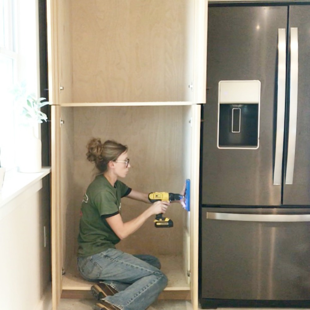 Building Kitchen Cabinets Video How To Build Your Own Diy Kitchen Cabinets From Only Plywood
