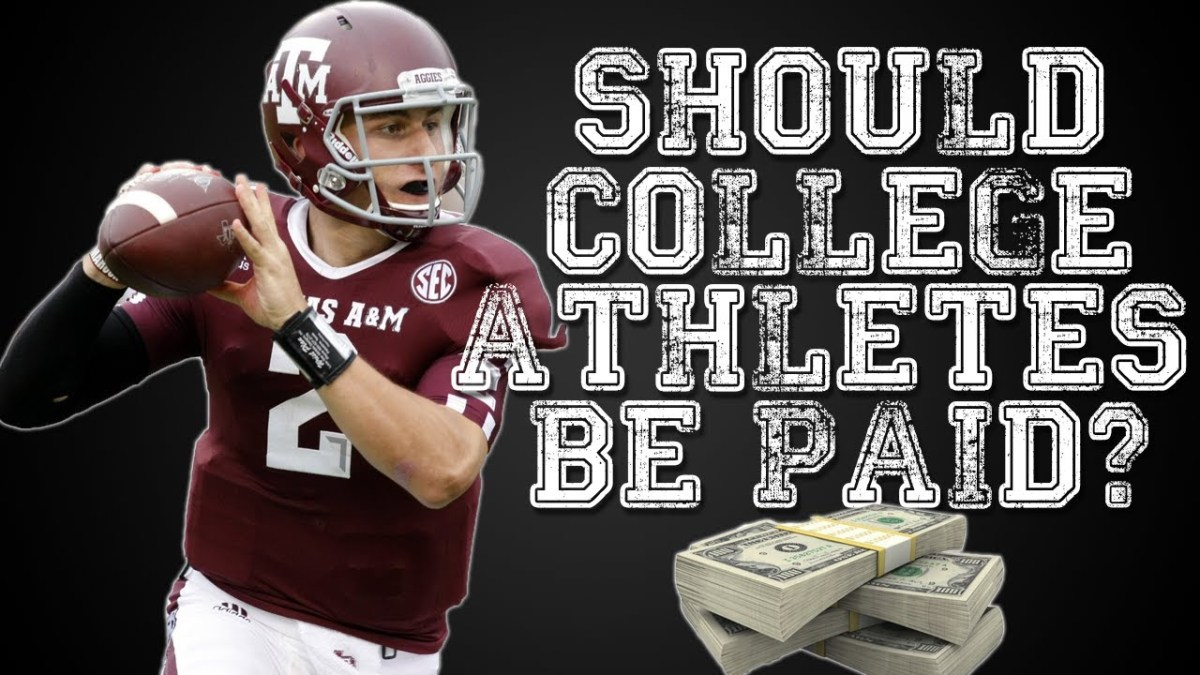 My First Podcast Episode: Should College Athletes Be Paid?