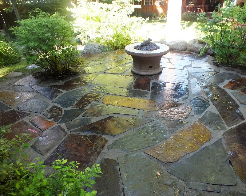 Slate Patio Pictures Latest With Slate Patio Pictures