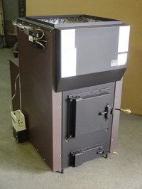 Kuuma Vapor Fire 100 Wood Furnace by Obadiah's Woodstoves