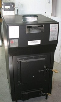 Kuuma Vapor Fire 200 Wood Furnace by Obadiah's Woodstoves