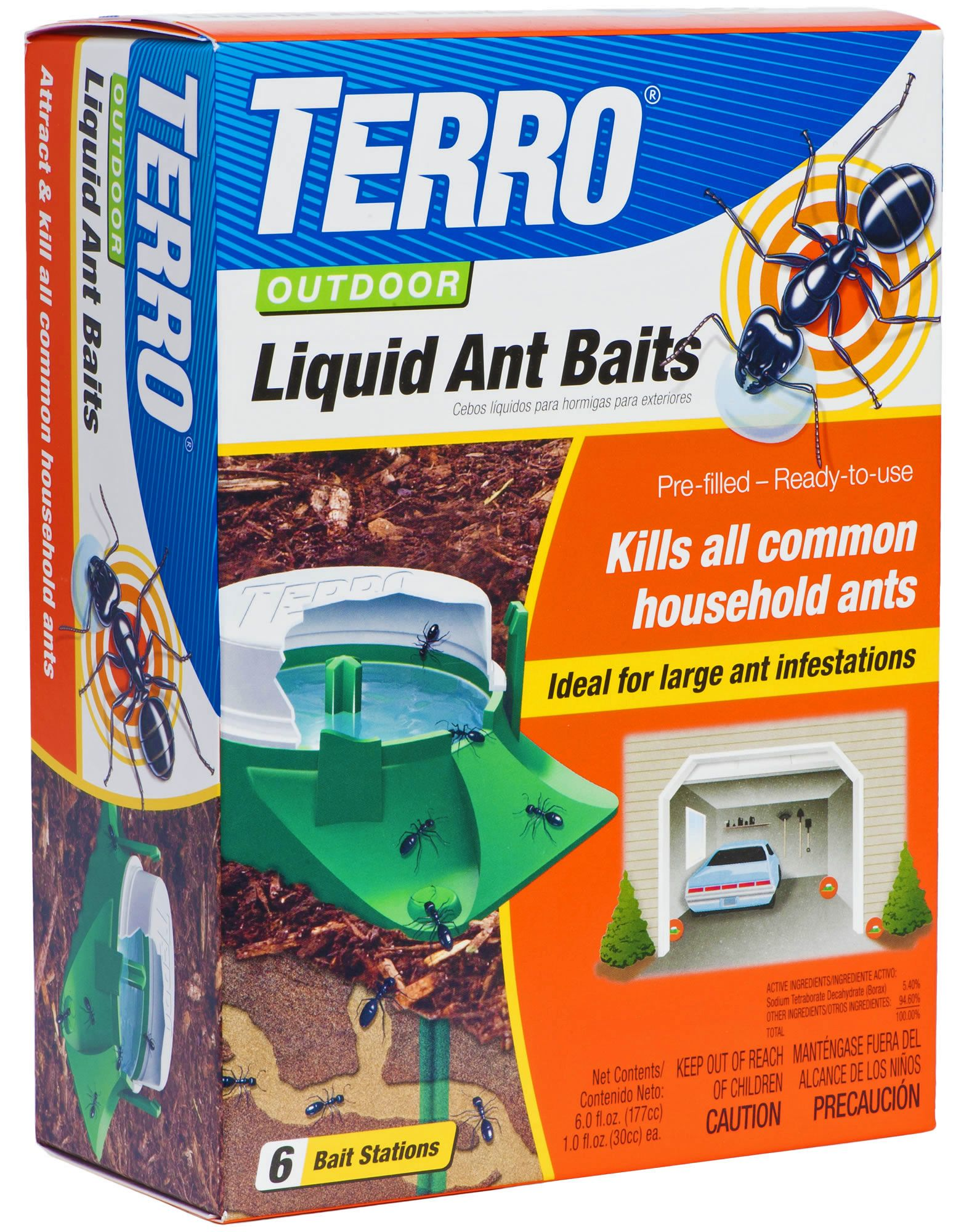 Natural Ant Killer For Yard Terro Outdoor Liquid Ant Bait Stations Model T1806
