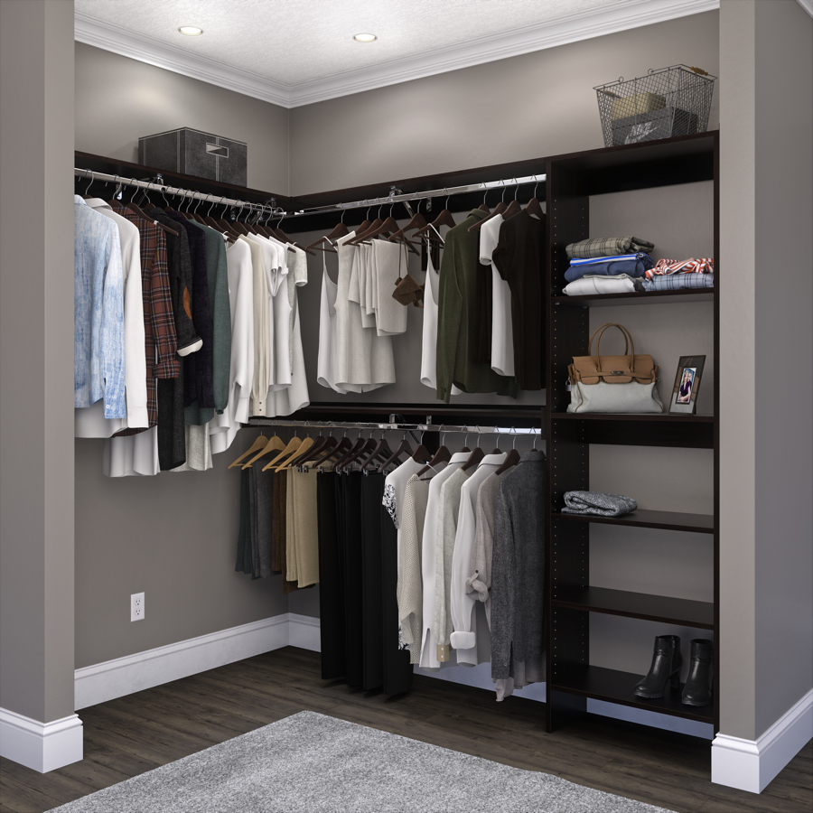 Walkin Closet Cabinets Closet Gallery Closets Woodtrac By Sauder