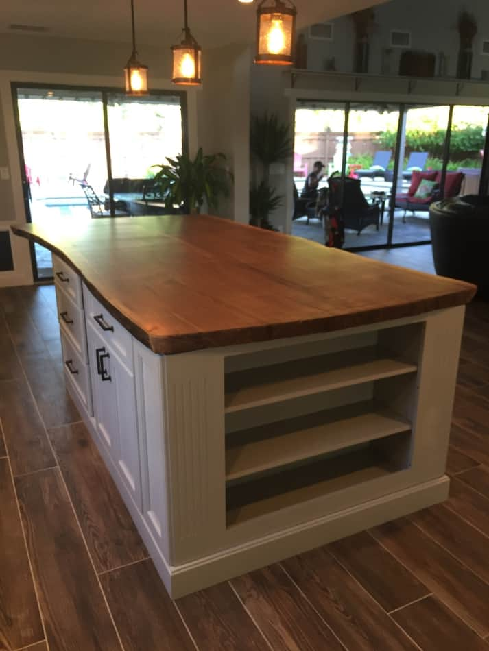 How To Make An Easy Kitchen Island Woodvendors.com: Hardwood Lumber, Exotic Wood, Wood Molding