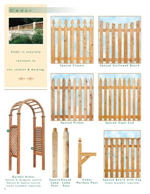 Medium Of Wood And Wire Fence