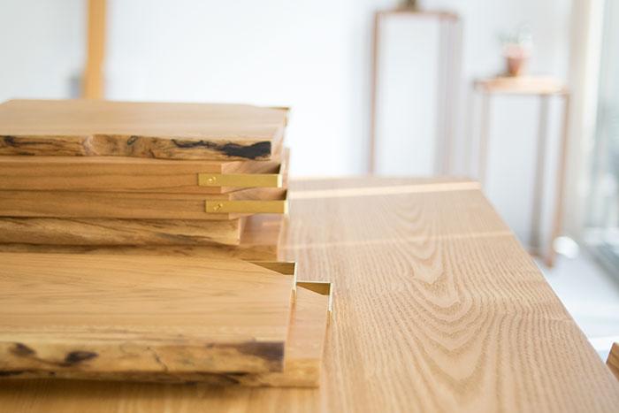 木製カッティングボードkittaki