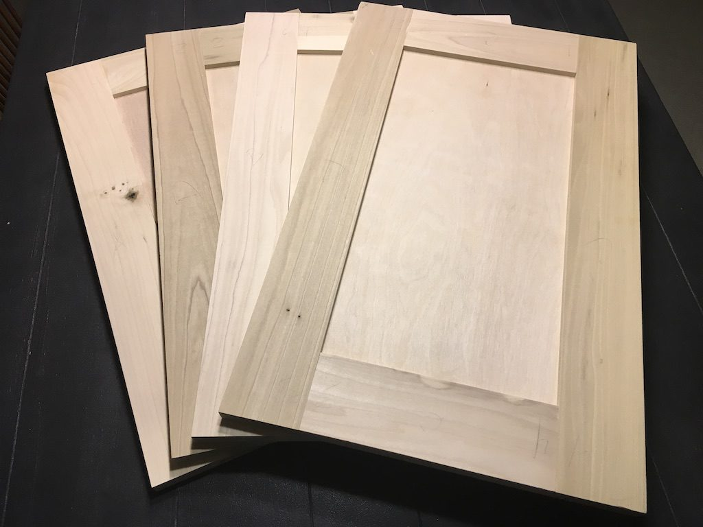 Flat Front Kitchen Cabinets How To Build Flat Panel Cabinet Doors With Your Table Saw