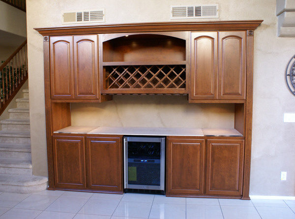 Cutting Kitchen Cabinets Built In Home Bar Cabinets In Southern California