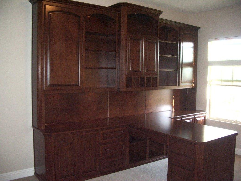 Built In Home Office Furniture And Desks 114 Woodwork Creations