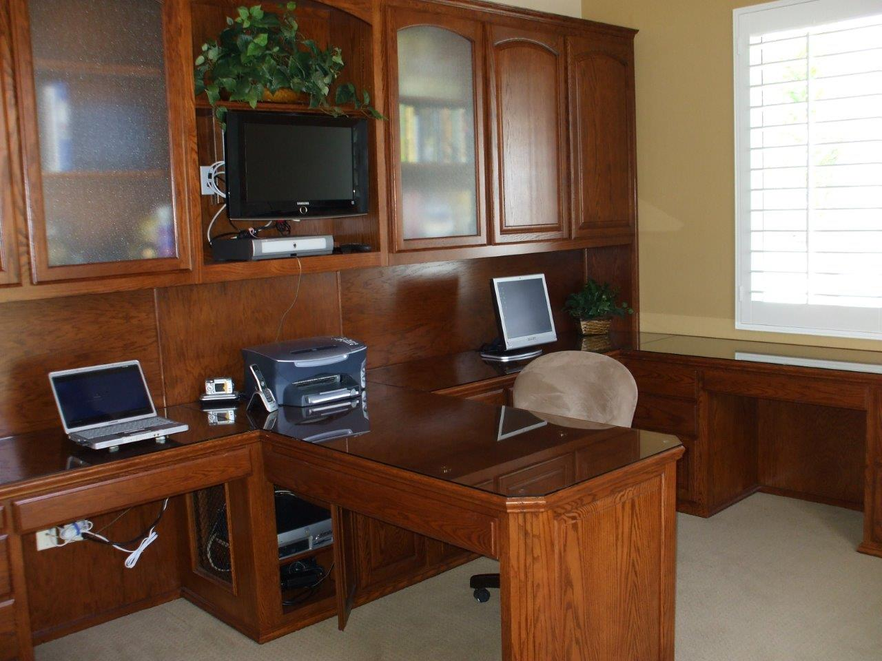 Home Office Cabinets Custom Home Office Cabinets And Built In Desks