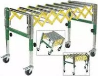 Woodworker.com: WOODTEK ACCORDION INFEED OUTFEED ROLLER STAND