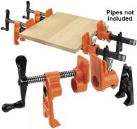 """Woodworker.com: JORGENSEN 3/4"""" PRO PIPE CLAMP FIXTURE"""