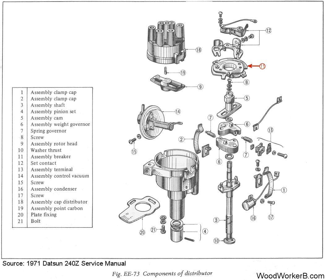 240z distributor wiring