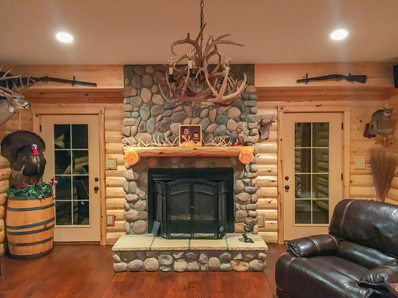 Rustic Furniture Rustic Man Cave | Build Your Own Log Cabin Man Cave