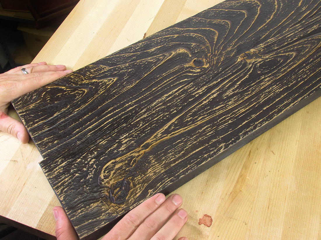 6 Rustic Reclaimed Weathered Distressed Alder Wood Finishes You Can Do Woodworkers Source Blog