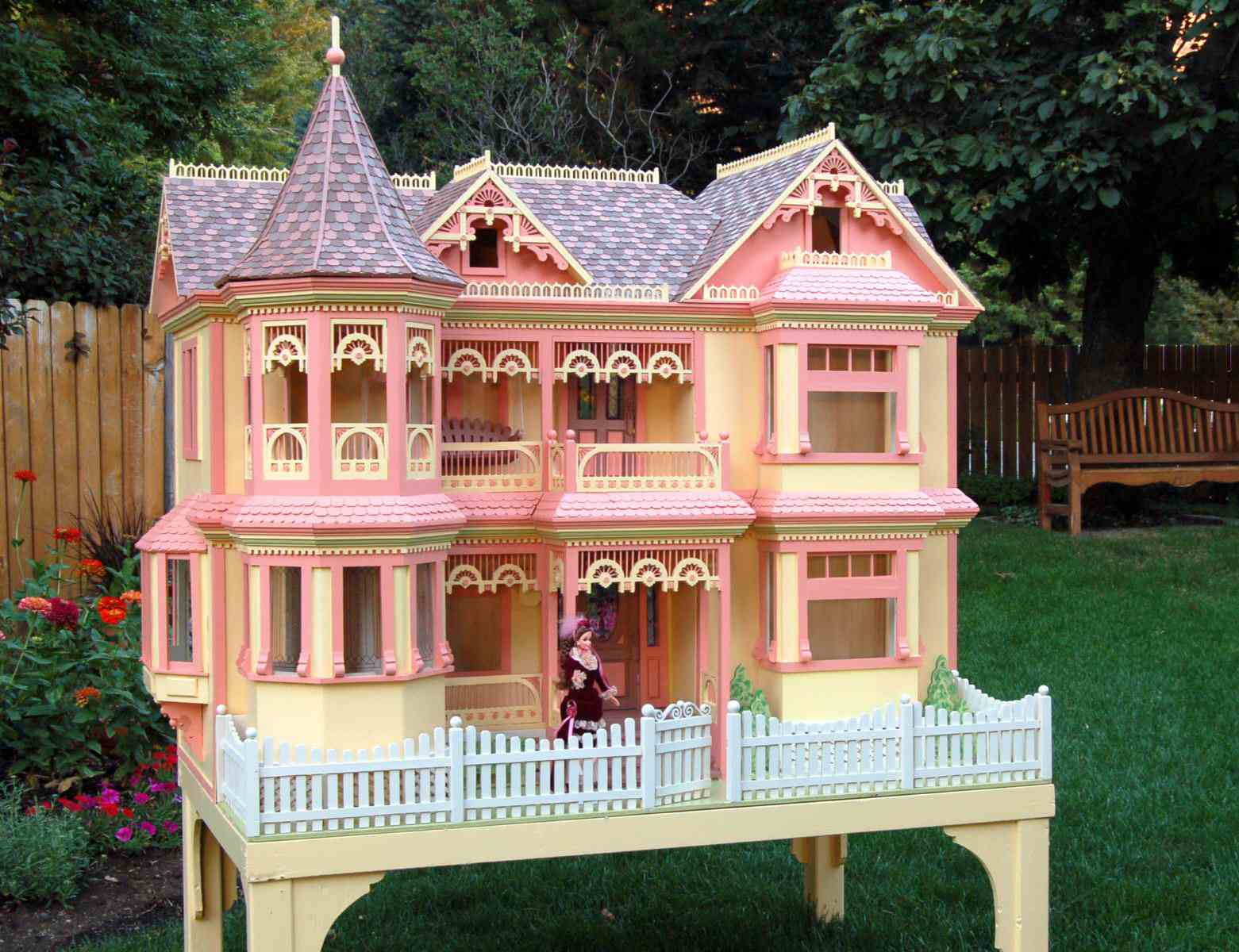 Barbie House Design 18 Simple Victorian Dollhouse Plans Free Ideas Photo