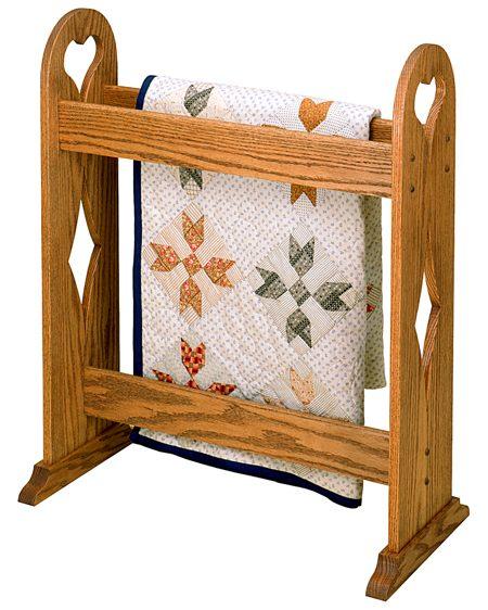 Quilt Stand Vintage Woodworking Plan Woodworkersworkshop