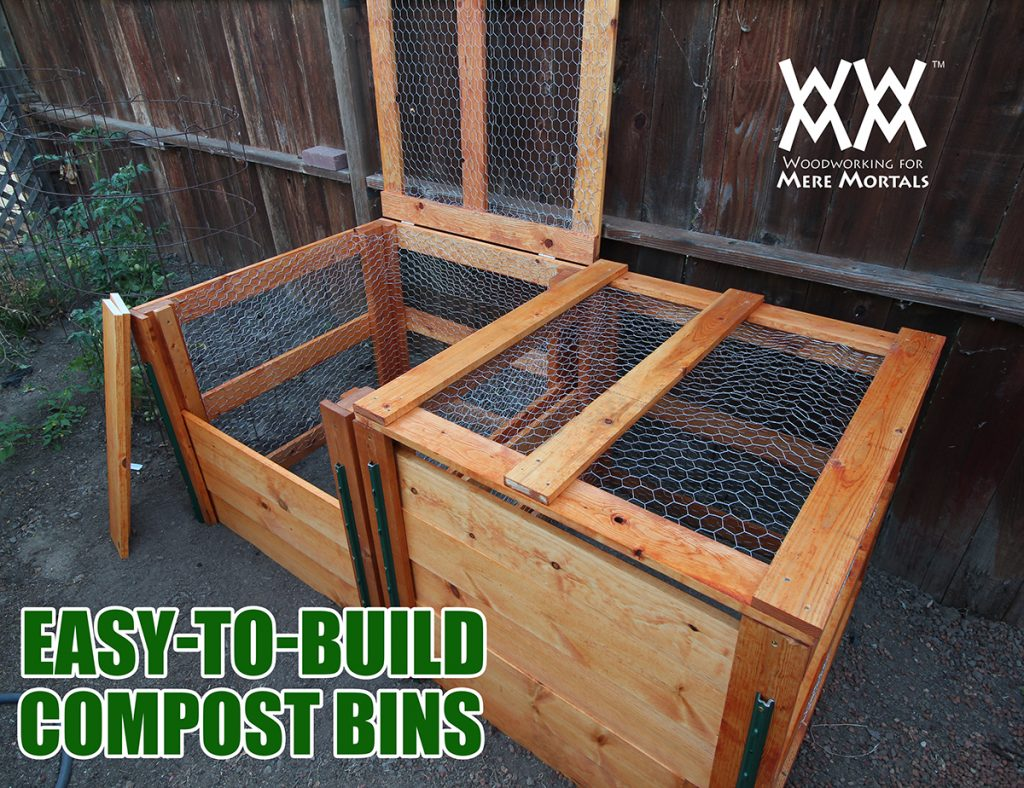 Diy Compost Bin Plans How To Make A Compost Bin Using Limited Tools