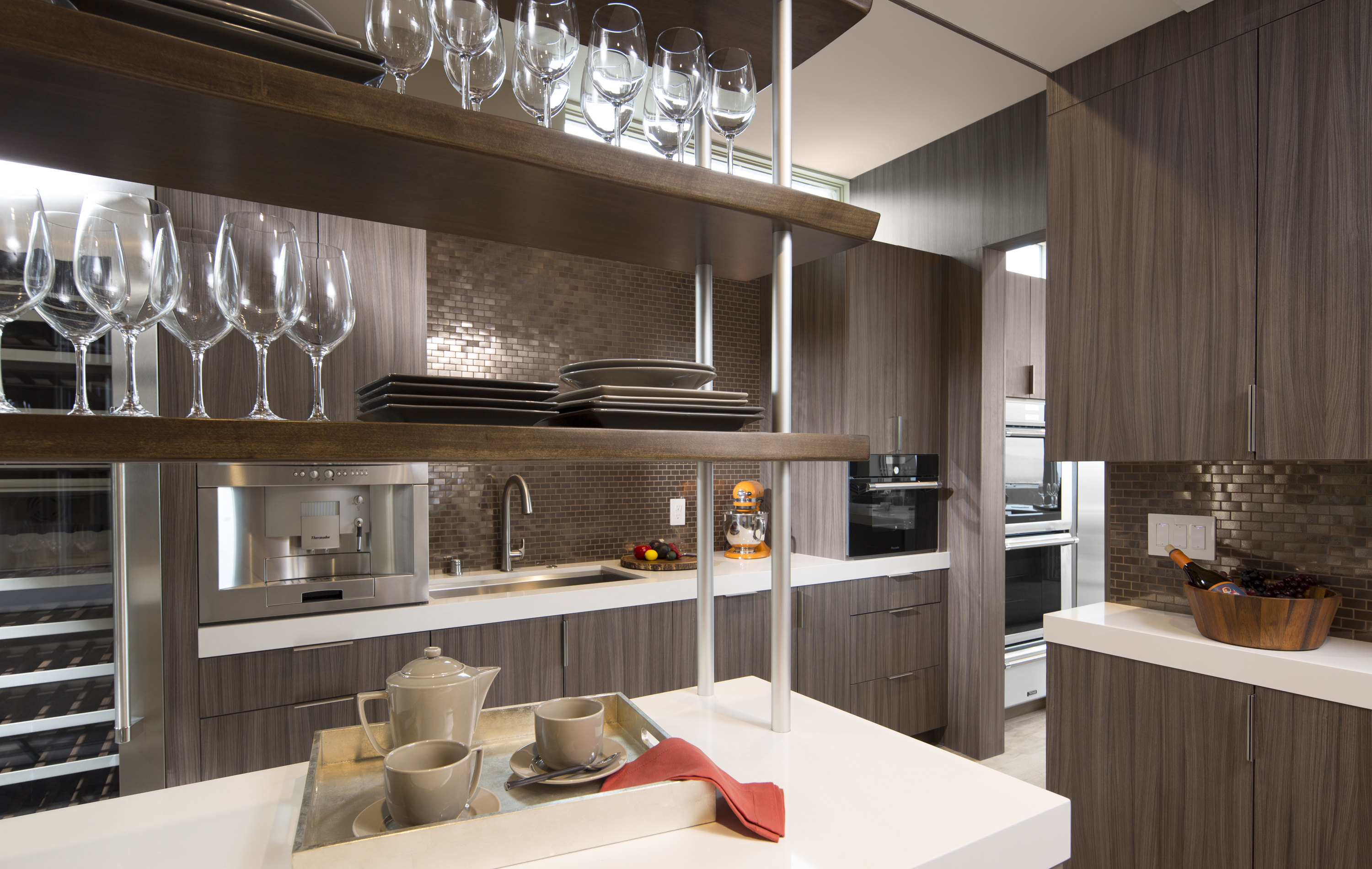 Flat Front Kitchen Cabinets What S Trending In Kitchen Bath Design Woodworking Network
